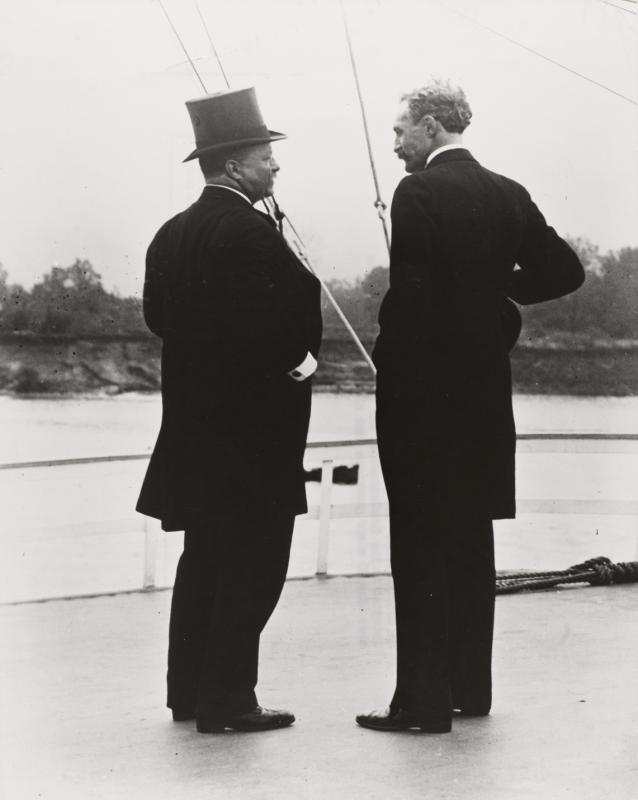 President Theodore Roosevelt and U.S. Chief Forester Gifford Pinchot