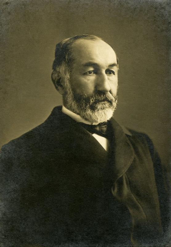Portrait of Vice-Chancellor Josiah Gorgas