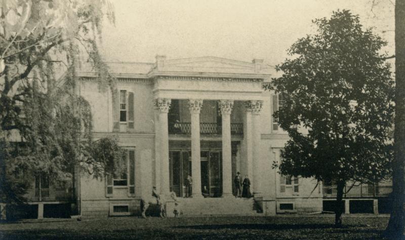Ashwood Hall plantation home near Columbia, Tennessee